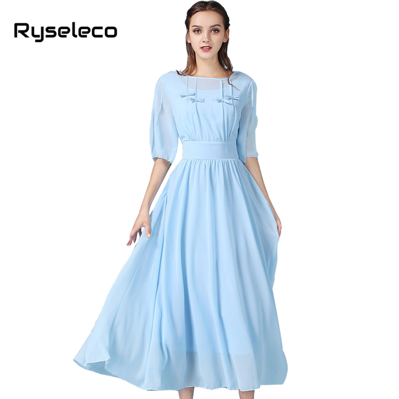 Online Get Cheap Sky Long Dresses -Aliexpress.com  Alibaba Group