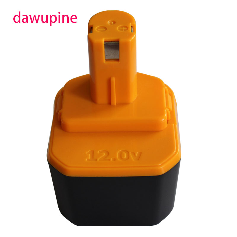 dawupine NI-MH battery 12V 1500mAh For Ryobi Electric Power tools Battery Wireless Electric Drill Rechargeable Battery