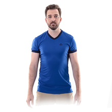 New Naturehike Men's V-neck Quick Dry Breathable Outdoor Running Climbing Ice T-shirt Women Short-sleeved Shirt NH01Y016-V