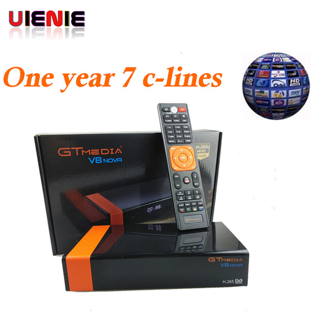 5 Pcs Freesat V8 upgrade Gtmedia V8 NOVA Satellite TV Receiver DVB-S2 Europe Built Wifi Dongle High Quality Stable