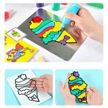 Игрушки Игрушки для детей рисунок «сделай сам» игрушки дети мультфильм клей темперная живопись для детского сада Искусство ремесло Детские игрушки День рождения