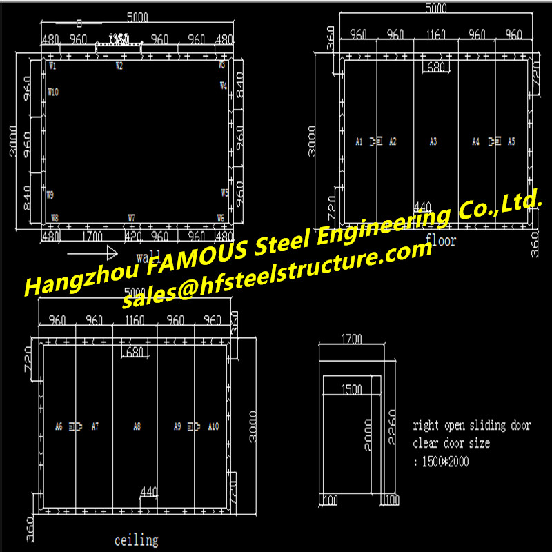 China EPC Contractor Design And Construction Cold Storage Project  For Sale