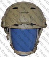 SNELLE TAN PJ Carbon Stijl Vented Airsoft Tactical Helm/Ops Core Stijl Hoge Cut Training Helm/SNELLE Ballistische Stijl Helm.