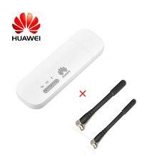 Unlocked Huawei E8372 2 adet Anten ile 150M LTE USB Wingle LTE 4G USB WiFi Modem dongle araba wifi E8372h 153 E8372h 608
