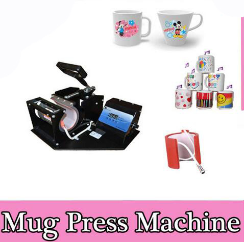 Free shipping 2in1 heat transfer machine DX 022 Sublimation Heat press Machine For Mug 2 in1