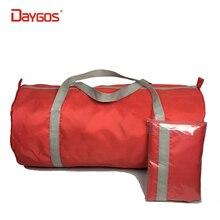 VERKAUF! Faltbare Wasserdichte Nylon Reisetasche Frauen Männer Hand Gepäck Duffle Bag Großraum Verpackung Würfel Blau Rot Bolsa