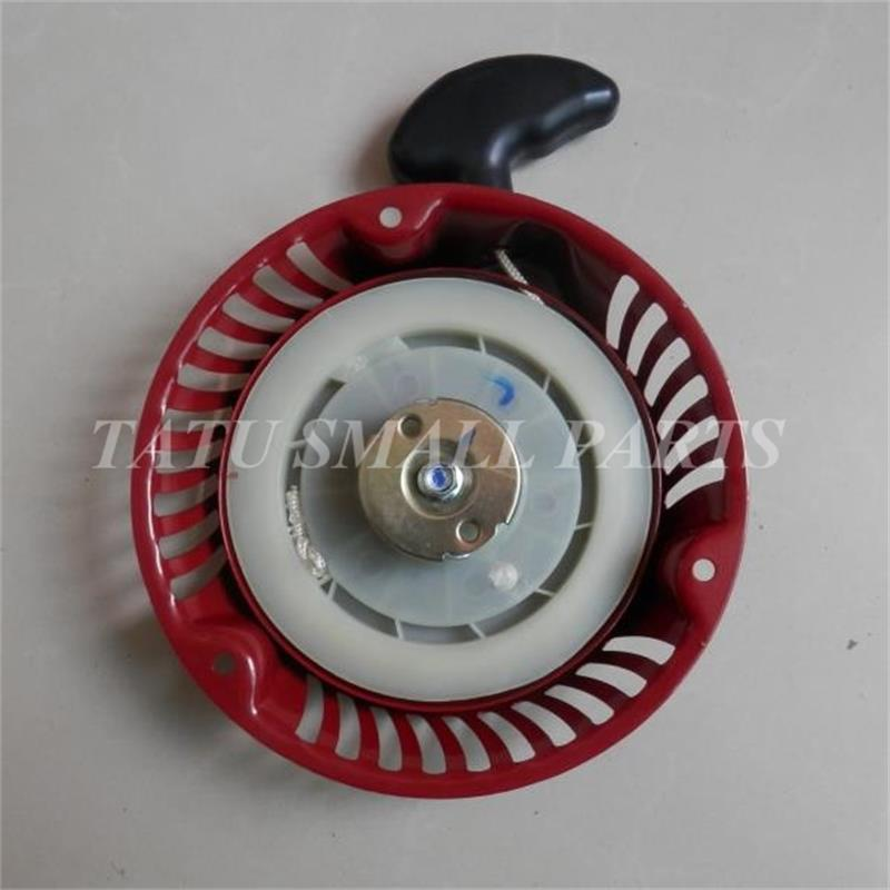 1P68F RECOIL STARTER ASSY FOR CHINESE 1P68 WORLD 4 STROKE 163CC 216 LAWNMOWER PULL START ASSEMBLY PARTS recoil starter assy steel ratchet for yamaha mz175 ef2600 ef2700 pull start assembly 2kw generator parts