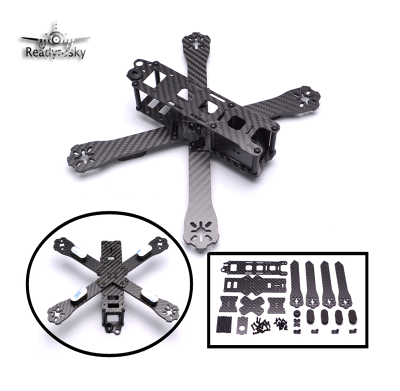 QAV-R 220mm / QAV-X 130mm  DIY Mini Drone FPV Pure Carbon Fiber Quadcopter QAV-R 220  Cross Racing Quadcopter Frame carbon fiber frame diy rc plane mini drone fpv 220mm quadcopter for qav r 220 f3 6dof flight controller rs2205 2300kv motor
