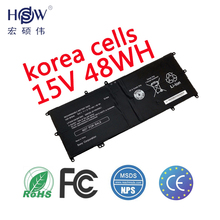 15V 48WH Original Genuine VGP-BPS40 Laptop Battery for SONY Vaio Flip SVF 15A SVF15N17CXB 14A SVF14N SVF14NA1UL UltraBook BPS40