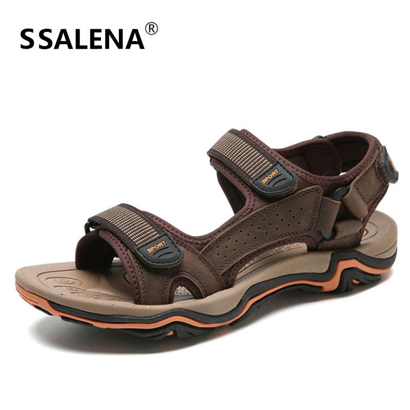 Oscuro color De Secado Zapatos Verano caqui Los Verde Antideslizante Hombres Ocio Sandalias Rápido Aa51629 Cuero Playa Hollow Sandals Del Soft Respirable Caqui ZqH01OnZr