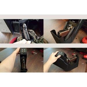 Image 5 - Pistola Sicurezza Biometrico di Impronte Digitali e di Ricambio Chiave di Blocco Pistola Cassetta di sicurezza In Acciaio di Alta Qualità di Sicurezza Pistole di Impronte Digitali Cassaforte