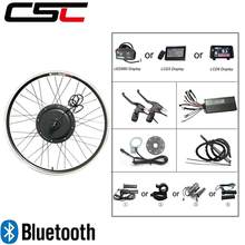 Electric bike Conversion Kit Bluetooth regeneration 48V 500W 1000W 1500W 20-29inch 700C EBike Bicycle Front Rear Motor Wheel(China)
