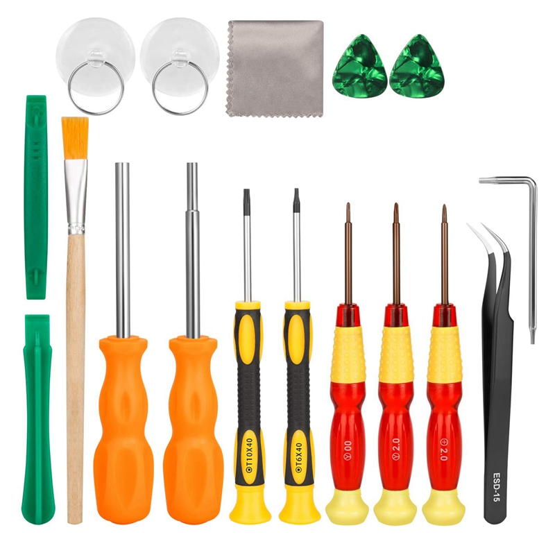 17 In1 Professional Full Security Screwdriver Game Bit Repair Tool Kit For Nintendo Switch/Joycon  New 3Ds And Nintendo Wii/Ne|Screwdriver| |  - title=