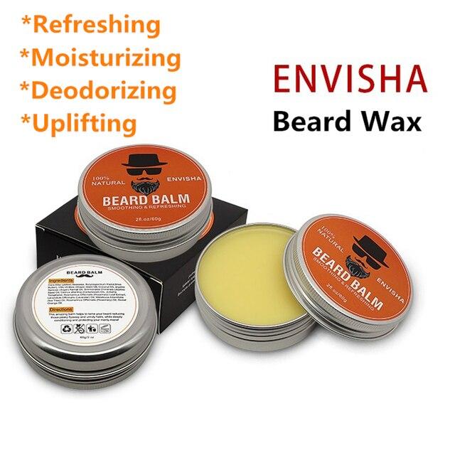 7pcs/set Men Barba Beard Kit Styling Tool Beard Essence Oil Comb Moustache Balm Moisturizing Wax Styling Scissors Beard Care Set 3