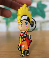 Naruto action figure keychains (8 styles)