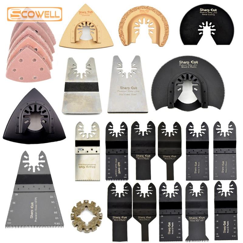 30% di sconto 45 pezzi Kit lame oscillanti multiutensile kit adatto per Fein Multimaster Dremel Bosch Milwaukee macchine Ristrutturazione