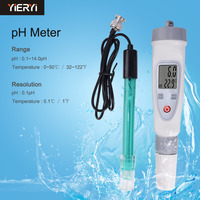 Portable Digital Water Quality Tester Pen PH Meter Water Quality Test Pen PH 20W External Connection Electrode Tester