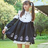 Beautiful Gothic Lolita Dress Off The Shoulder Dress For Women Cosplay Costumes Preppy Style Retro Dresses