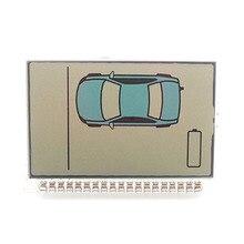 Русская версия ZX1055 ЖК-дисплей для Sheriff ZX1055 ZX1060 ЖК-дисплей двухсторонний автомобильный пульт дистанционного управления Автоматическая сигнализация