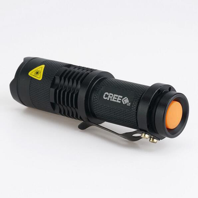 free shipping 2000LM CREE LED Flashlight 3 Modes Zoomable Torch Penlight Flashlight Portable Lighting use AA 14500 mini green flashlight cree 2000lm waterproof led flashlight 3 modes zoomable led torch penlight free shipping zk91