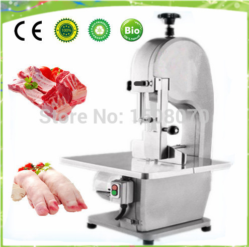 automatic meat bone cutter machine electric meat saws commercial bone cutting machine