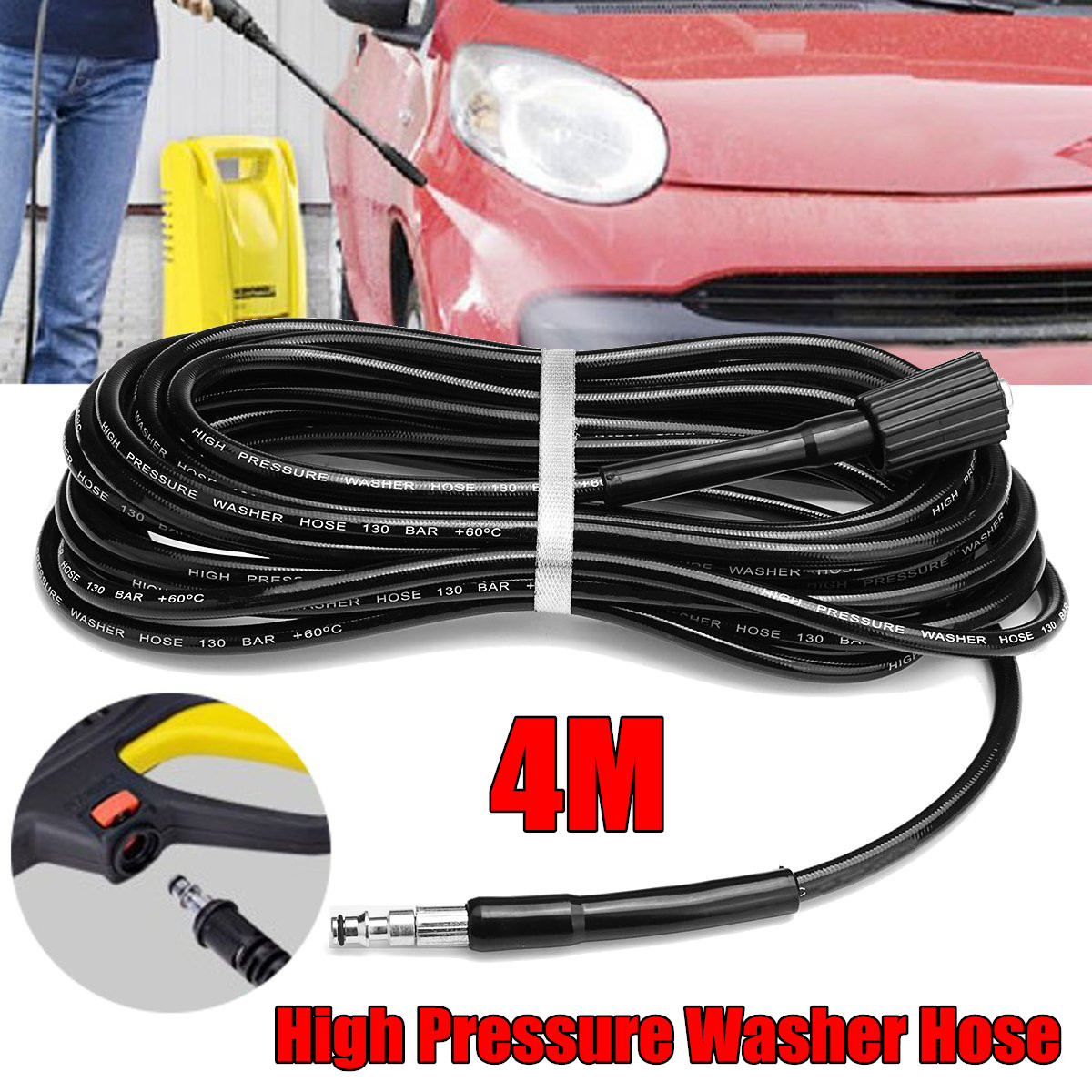 Working For VAX High Pressure Washer Hose 10 Meters Quick Connect Of ...
