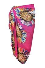 Women's Stylish Colorful Sunflower Pattern Chiffon
