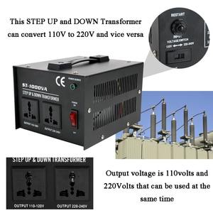 Image 4 - ST 1000W Home use Intelligent Efficient Step Up Down Transformer 110V 220V Household Electrical Appliance Voltage Converter