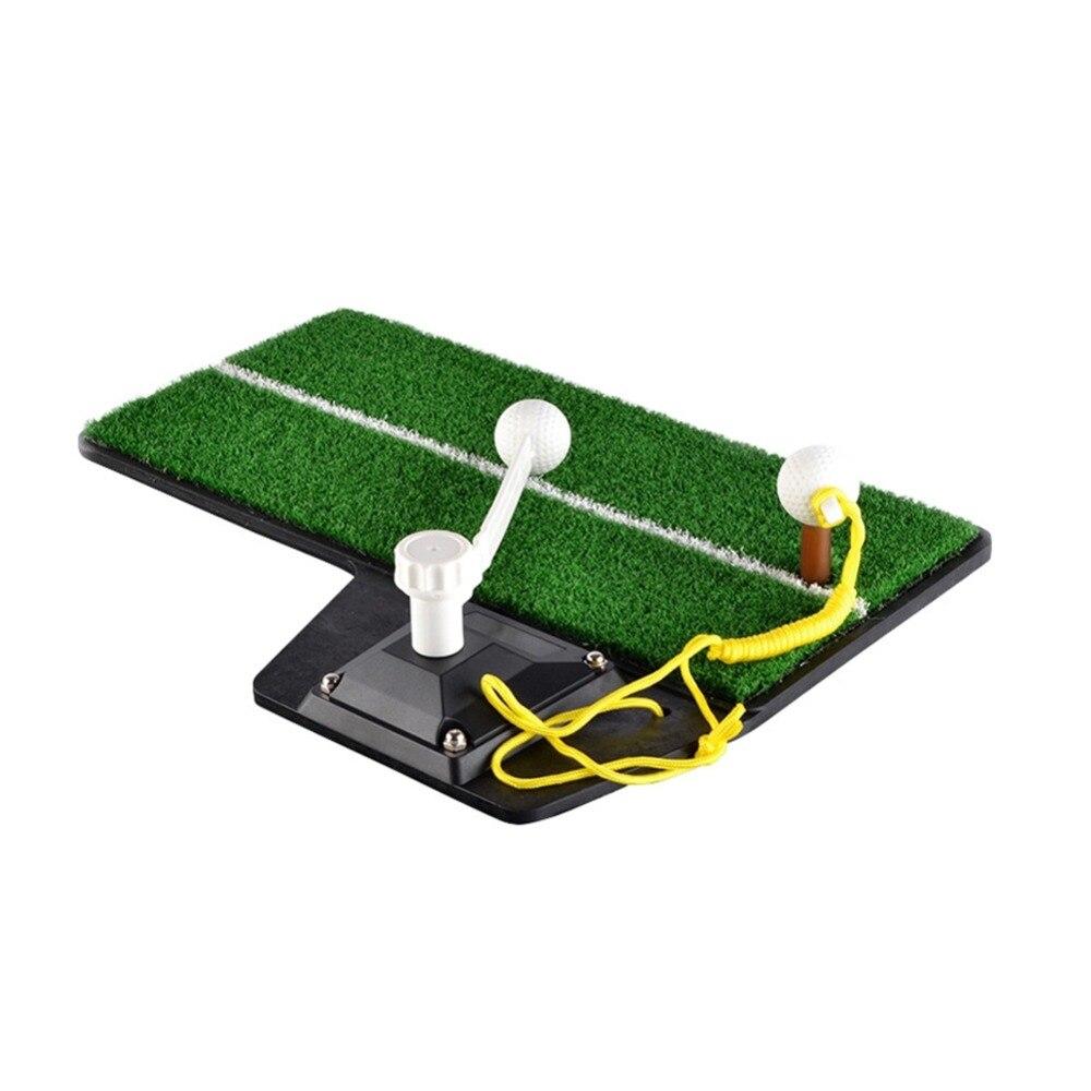 Entraîneur de balançoire de Golf PGM dispositif de pratique de Golf intérieur Portable entraînement de Golf tapis de pratique de frappe HL001