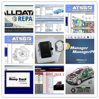 alldata software v10.53 and mitchell on demand +vivid+atsg+moto heavy truck 49in1 hard disk 1tb all data auto repair