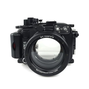 Image 1 - Meikon Waterproof Underwater Housing Camera Diving Case for Canon G7X Mark II WP DC54 G7X 2