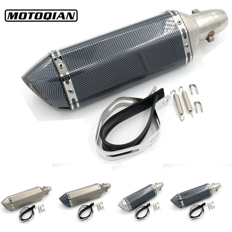 Universal Motocross 51mm Exhaust Pipe For YZ80 YZ85 YZ125 YZ250 WR250R WR250X SEROW 225 250 TTR250 XT250X TRICKER DT230 цены онлайн
