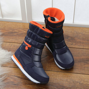 Image 4 - 2018 New Style Women Boots Fashion Silver Warm Brand Buffie