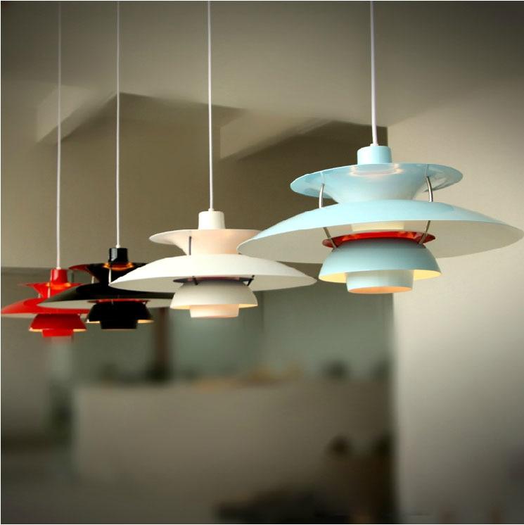 Hanging Reading Light: Aluminum Pendant Ceiling Chandelier Restaurant Bar Living