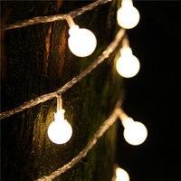 10M Led String Light 100led Ball AC220V EU Plug Holiday Wedding Patio Decoration Lamp Festival Christmas