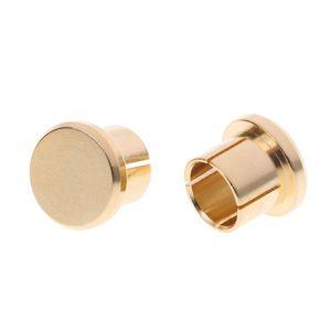 Image 4 - Enchufe para circuito corto chapado en oro, 10 Uds., conector fono RCA, conector de protección, tapas protectoras