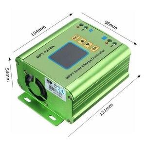 Image 4 - PowMr 10A MPPT Solar Charge Controller Fit For 24V 36V 48V 60V 72V Lithium Battery Bank Solar Systems Regulators LCD Display 202