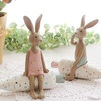 送料無料フレンチ雑貨ヴィンテージ愛好家ウサギ家の装飾リアル子既婚誕生日ギフト