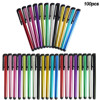 100 Pcs Universal Stylus Pen for Touch Screen For Samsung Tablet PC Tab iPad iPhone QJY99