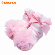 OKOUFEN Bow Knot Baby Girls Socks Knotted Bow Knot Pure Cotton Fashion Gift Sock Infant Toddler Short Socks