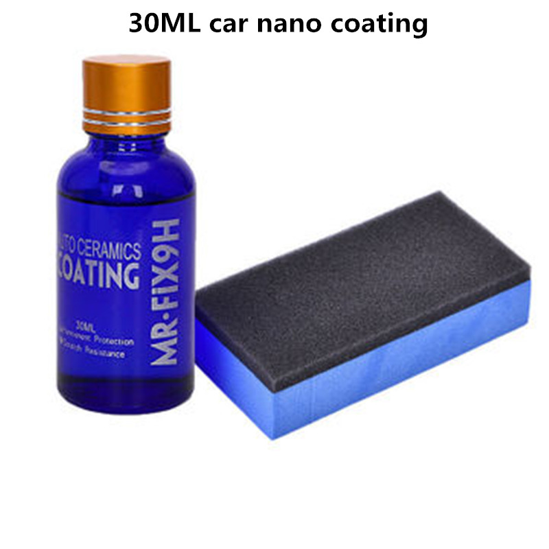 30ml Car Ceramic Coat Liquid Auto Wax Polishing Agent Car Hydrophobic Anti-Scratch Glass Coating Paint Care Cleaners Car Styling
