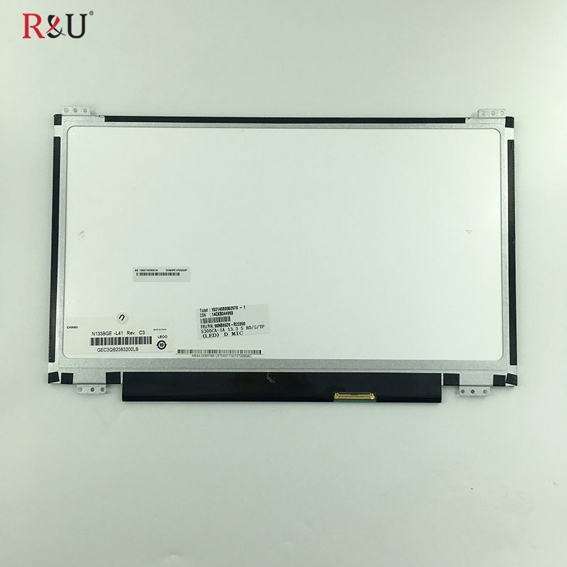 R&U 13.3 inch N133BGE-L41 LCD Display Screen inner screen Internal Replacement For ASUS Transformer VivoBook S300 S300CA laptop lp116wh2 m116nwr1 ltn116at02 n116bge lb1 b116xw03 v 0 n116bge l41 n116bge lb1 ltn116at04 claa116wa03a b116xw01slim lcd
