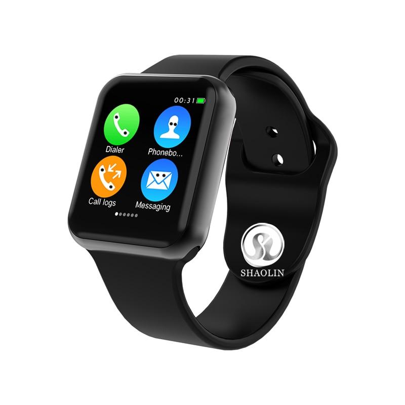 Das Mulheres dos homens Série 4 SmartWatch Bluetooth Relógio Inteligente para iOS Apple iPhone Xiaomi Android Telefone Inteligente Hua wei facebook (botão vermelho)