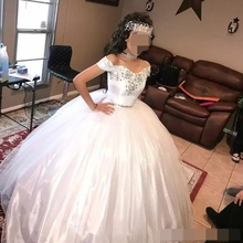 Quinceanera Dresses 2019 Prom Sweet 15 Ball Gown Two Pieces Beads Sequins Formal Homecoming Gowns vestidos de anos