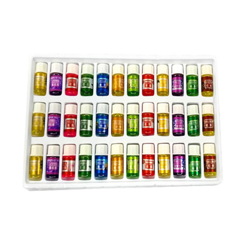 Oils 36Pcs/Set Water-soluble Essential Oil 12 Kind 3ML Fragrance Aromatherapy Oil Natural Spa Oil Relieve Stress Body Care Oil