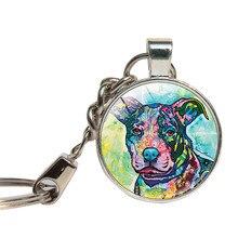 Pit Bull Keychain