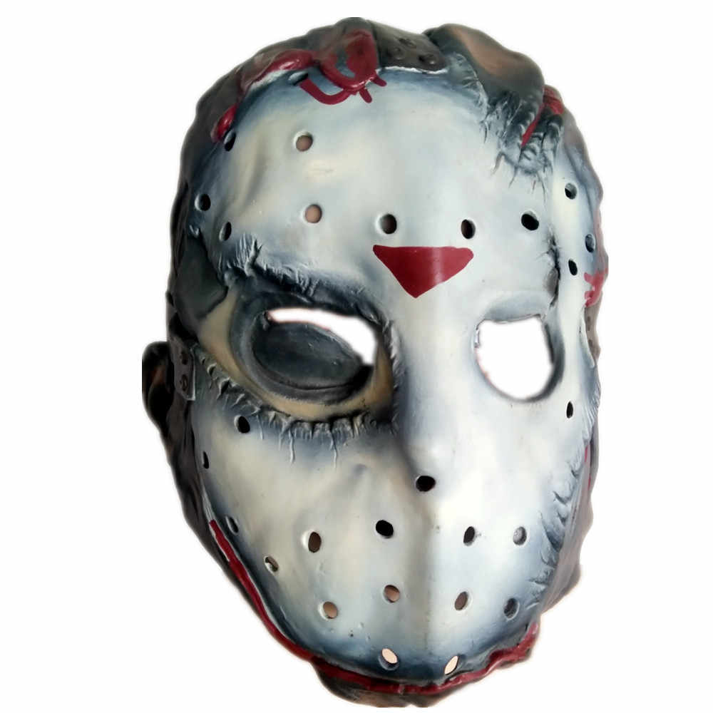 Jason voorhees Freddy krueger латексная маска для взрослых костюм пятница 13th Killers вечерние маски страшный ужас larp Cosplay