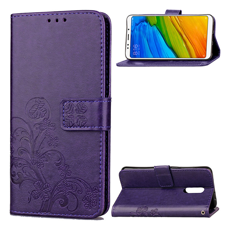 KEFO Luxury For Xiaomi Redmi 2A 3S 4 4A 4X 5A 5 Plus Redmi Note 2 3 4X 5A 5 Pro Case 3D Embossing Book Style Card Holder Cover   (14)