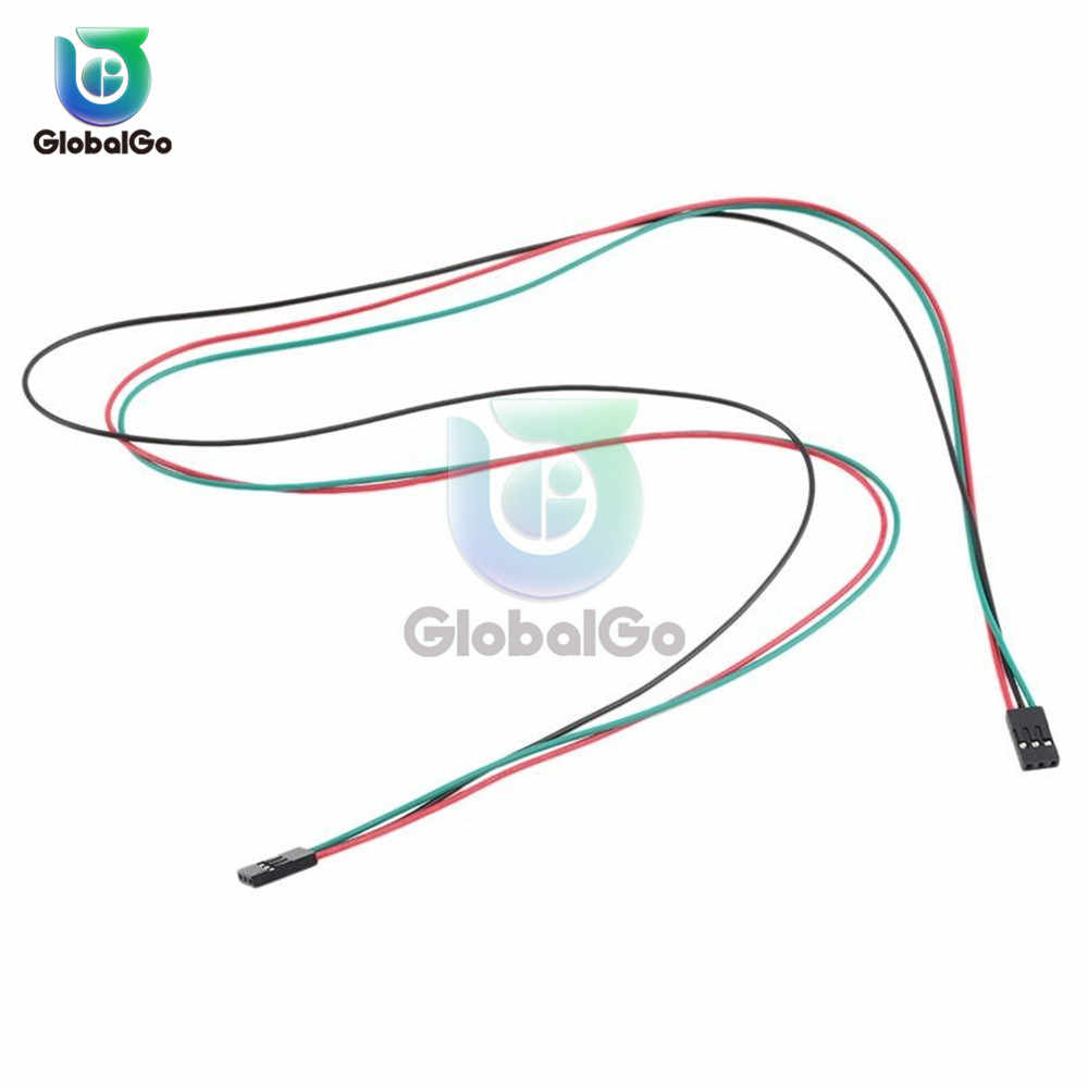 1pcs 3PIN 70CM Female Jumper Wire Dupont Cables Connector for Arduino 3D Printer Tool Connection Breadboard