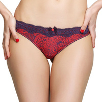 Yamamay Women S Seamless Panties Floral Pattern Sexy Lace Decorated Briefs Beautiful Color Smooth Intimates For